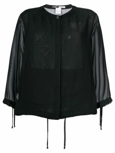 Chanel Pre-Owned sheer cardigan - Black