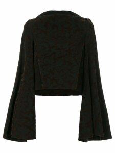 Comme Des Garçons Pre-Owned kimono style jumper - Brown