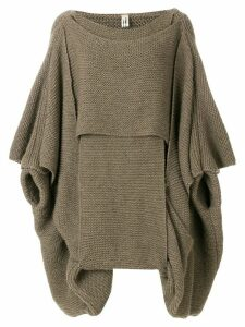 Comme Des Garçons Pre-Owned knitted sweater - Brown