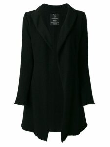 Yohji Yamamoto Pre-Owned knitted long cardigan - Black