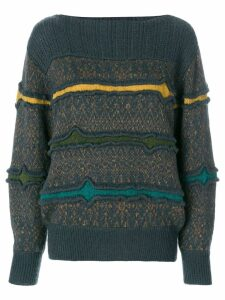 Issey Miyake Pre-Owned knitted sweater - Multicolour