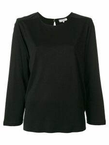 Yves Saint Laurent Pre-Owned long-sleeve blouse - Black