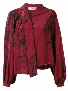 Gianfranco Ferré Pre-Owned printed shirt - Red