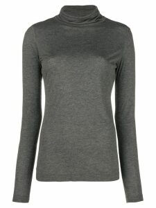 Moschino Pre-Owned funnel neck top - Grey