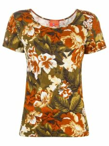 Kenzo Pre-Owned floral print T-shirt - Green