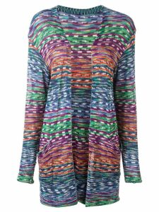 Missoni Pre-Owned 2000 open front knitted cardigan - Multicolour
