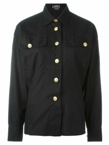Versace Pre-Owned classic shirt - Black