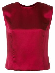 Jean Louis Scherrer Pre-Owned sleeveless top - Red