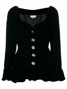 Yves Saint Laurent Pre-Owned buttoned blouse - Black