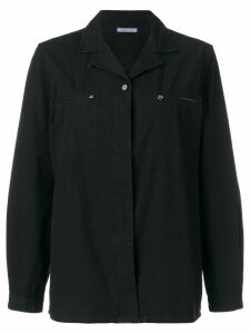 Prada Pre-Owned plain shirt - Black