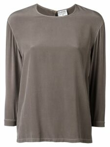 Chanel Pre-Owned straight-fit blouse - Green