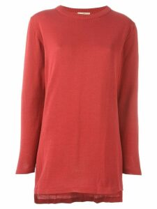 Romeo Gigli Pre-Owned crew neck jumper - Red