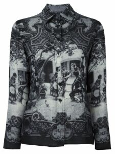 Jean Paul Gaultier Pre-Owned medieval print shirt - Grey