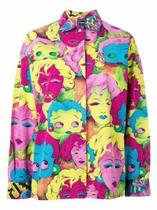 Versace Pre-Owned Betty Boop shirt - Multicolour