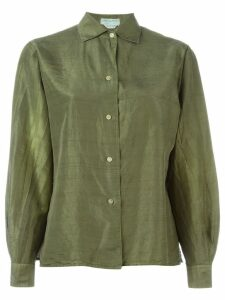 Emilio Pucci Pre-Owned satin shirt - Green