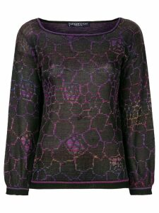 Emanuel Ungaro Pre-Owned geometric knit top - Multicolour