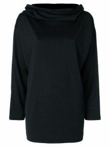 Comme Des Garçons Pre-Owned longsleeved shift blouse - Black