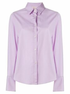 Romeo Gigli Pre-Owned wide cuffs shirt - Pink