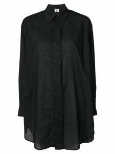 Fendi Pre-Owned oversized shirt - Black