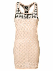 Jean Paul Gaultier Pre-Owned polka dot patterned sleeveless top - PINK
