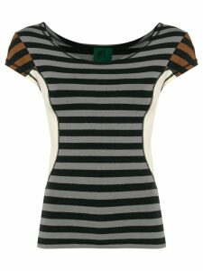 Jean Paul Gaultier Pre-Owned colour block striped T-shirt -
