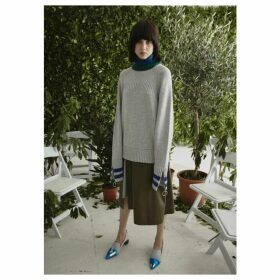 Jamie Wei Huang Cashmere Turtle Neck Jumper Grey