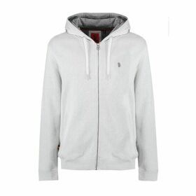 Luke 1977 Rh1 Rivbbed Zipped Through Hoody