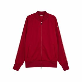 Moncler Dark Red Jersey Sweatpants