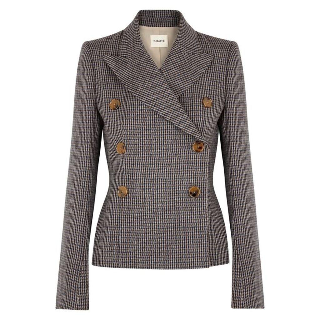 KHAITE Cathy Double-breasted Wool Jacket