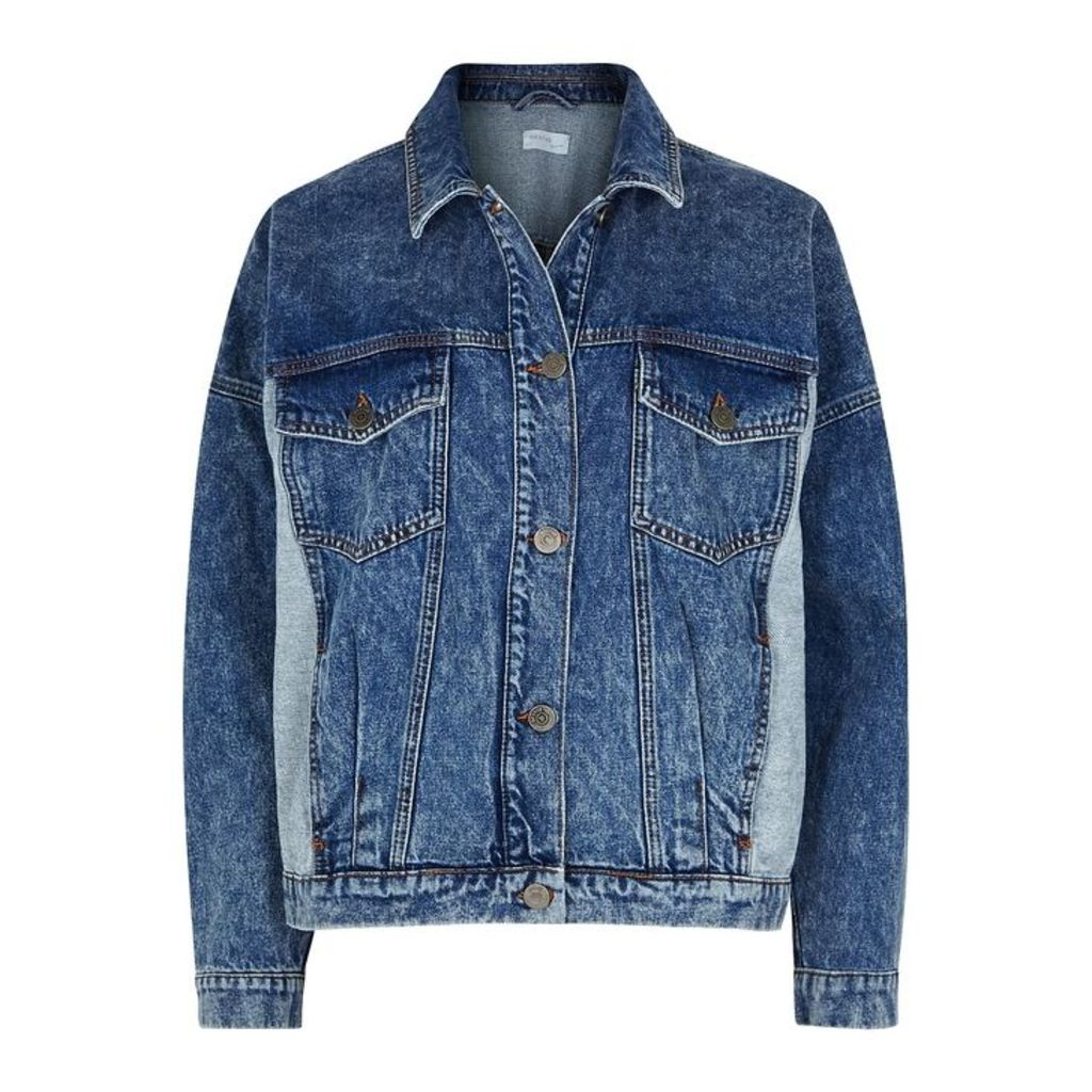 Gestuz Aparo Panelled Denim Jacket