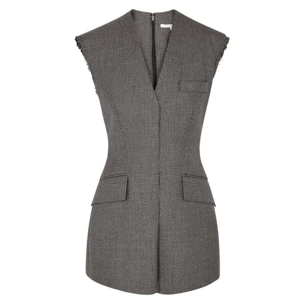 Stella McCartney Wool And Cotton-blend Sleeveless Jacket