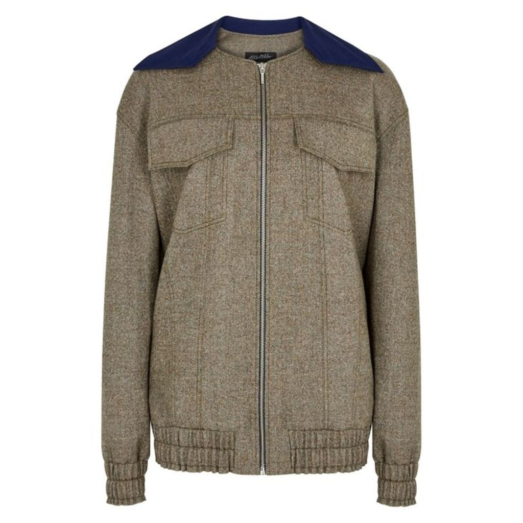 Anna October Tweed Bomber Jacket