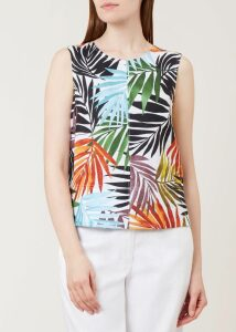 Angela Sweater Navy Ivory XL