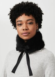 Ellis Sweater Black Ivory M