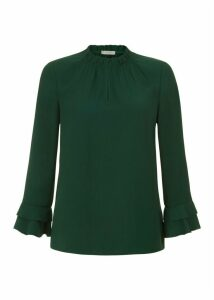 Misha Top Dark Green
