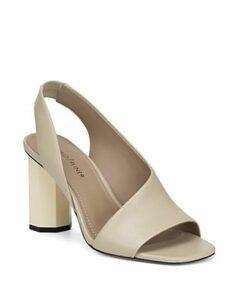 Donald Pliner Women's Ella Leather Column Heel Sandals