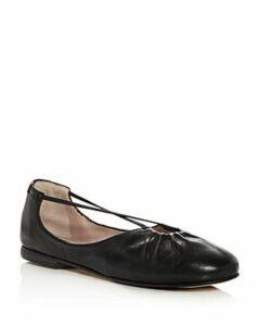 Taryn Rose Women's Alessandra Leather Ballet Flats
