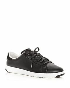 Cole Haan Women's GrandSport Leather Lace Up Sneakers