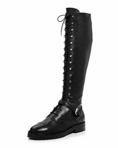 Tabitha Simmons Women's Alfri Leather Lace Up Boots