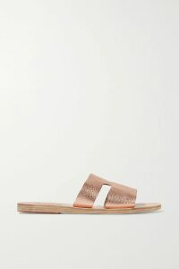 Prada - Striped Cotton-poplin Shirt - Blue