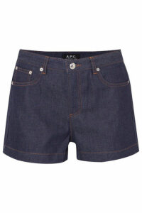 A.P.C. Atelier de Production et de Création - High Standard Denim Shorts - Dark denim