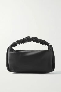 Balmain - Cropped Appliquéd Cotton-jersey Sweatshirt - Black