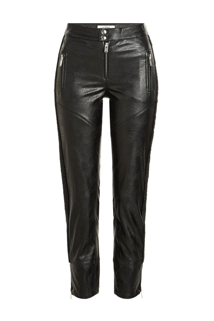 Isabel Marant toile Zaperry Faux Leather Pants