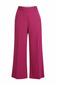 Victoria Beckham Cropped Pants with Cotton