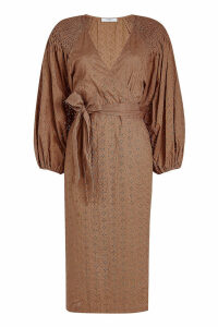 Marysia Pink Sands Wrap Dress