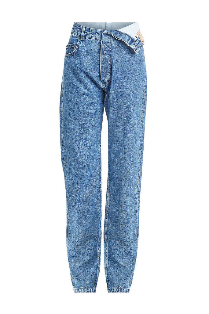 Y/Project Jeans with Asymmetric Waistband