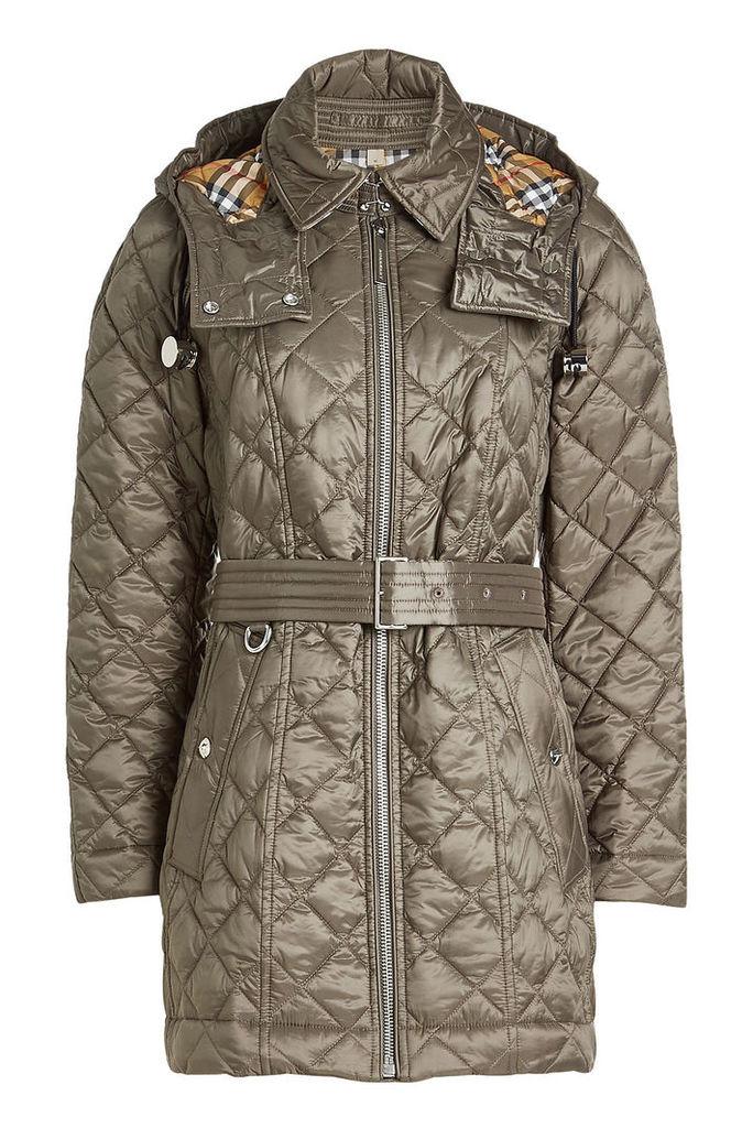 Burberry Baughton Jacket with Detachable Hood