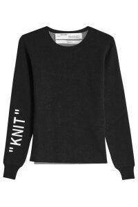 Off-White Knit Pullover