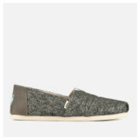 TOMS Women's Birch Technical Knit Alpargata Espadrilles - Grey - UK 8 - Grey