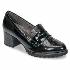 Pitillos  BURDEOS  women's Loafers / Casual Shoes in Black